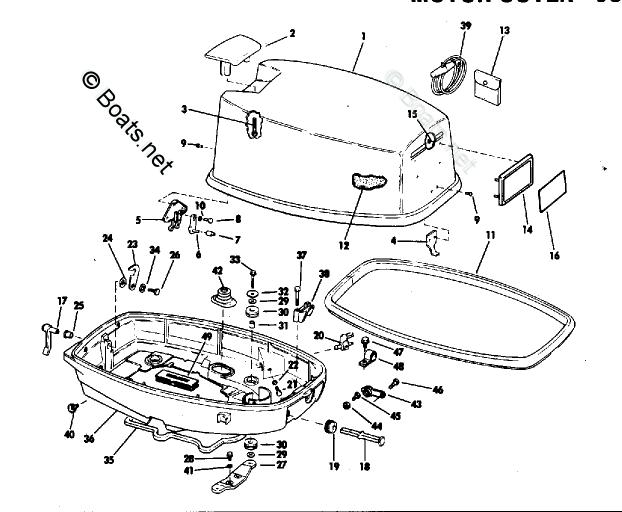 [KZ_5290] 1969 Evinrude 25 Hp Engine Wiring Diagrams