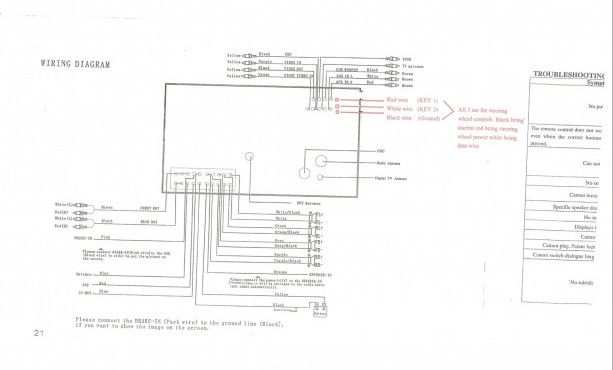 sony car radio wiring diagram  1967 chevy van wiring