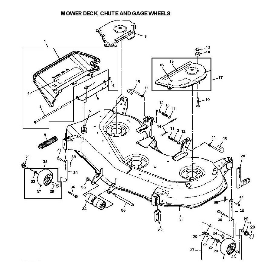 [KD_3142] John Deere X500 Wiring Diagram Wiring Diagram