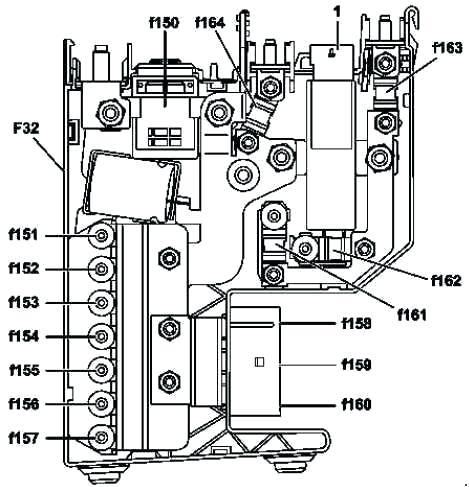[YE_2094] Mercedes Gl Fuse Box Download Diagram