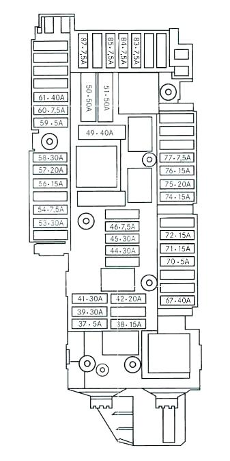 [CG_4370] Mercedes Clk500 Fuse Box Diagram Wiring Diagram
