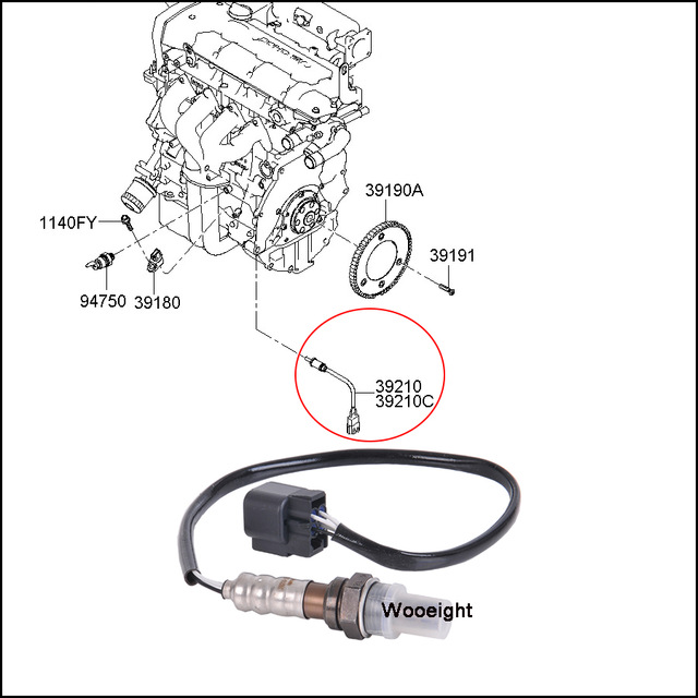 [CV_0392] Hyundai Oxygen Sensor Wire Diagram 4 Wiring Diagram