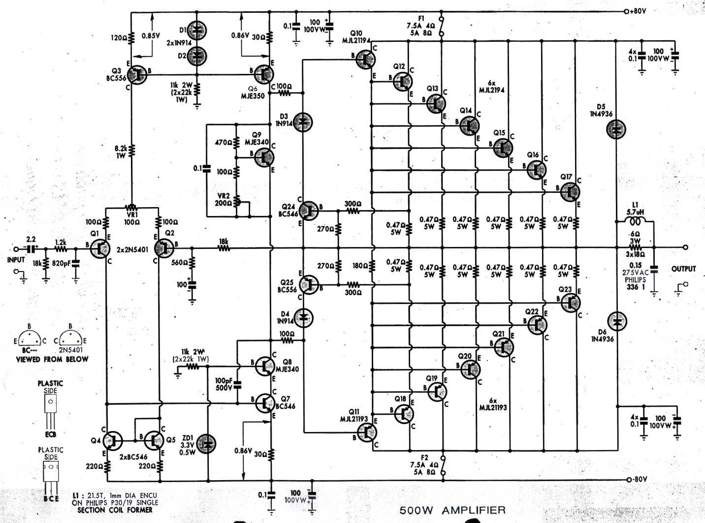 [AW_7960] Cyrus 1 Circuit Diagram Free Diagram