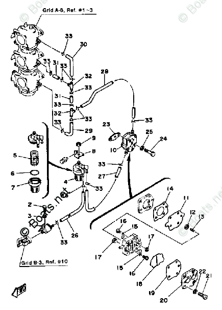 [VO_7968] Yamaha Outboard Engine Diagram Schematic Wiring