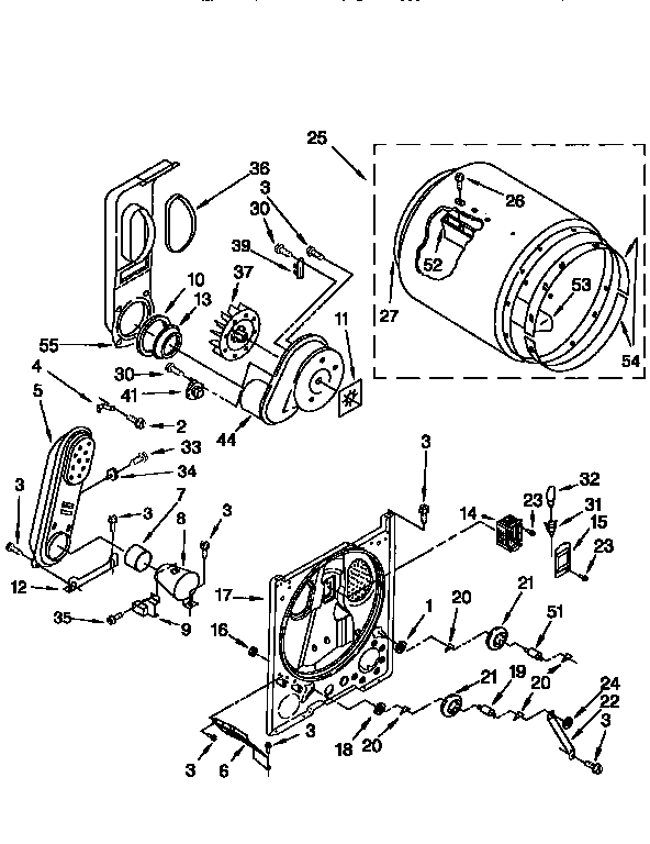 [TZ_9196] Kenmore 76722 Dryer Wiring Diagram Wiring Diagram