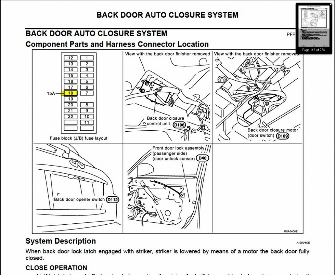 [XY_7134] 1997 Infinity Eagle Mini Left Fuse Box Diagram
