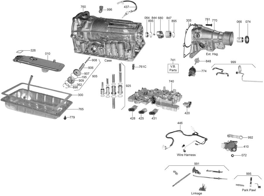A340F Transmission Wiring Diagram : 1991 Toyota A340e