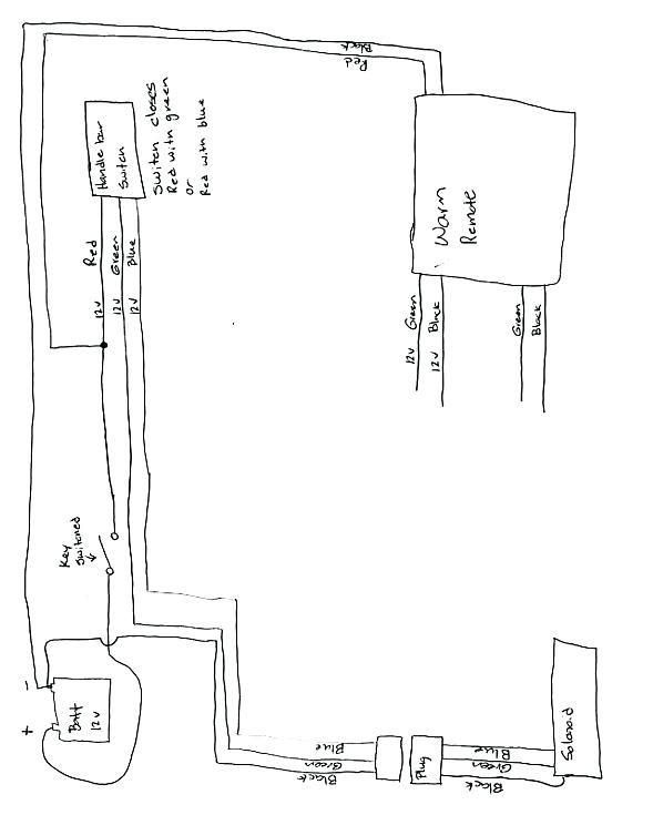 mile marker atv winch wiring diagram  oldsmobile 88 fuse