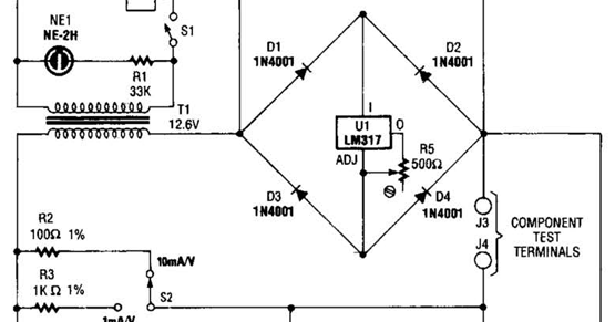 [GW_1294] Build A Curve Tracer Circuit Diagram Electronic