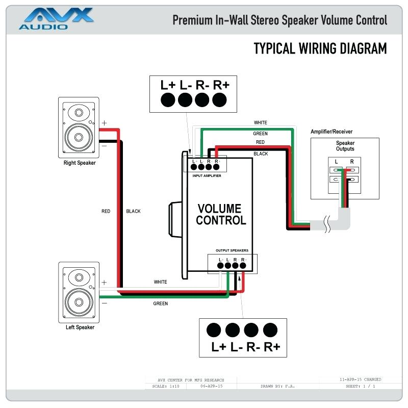 [YY_7380] Ceiling Speaker Volume Control Wiring Diagram