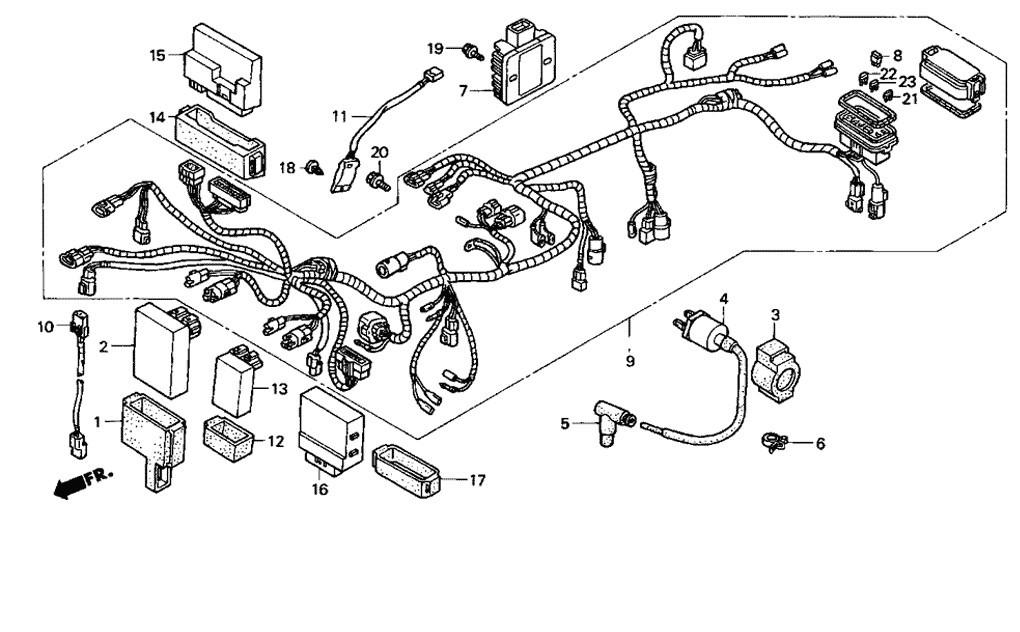 [LV_8865] Cbr F4I Wiring Diagram Schematic Wiring