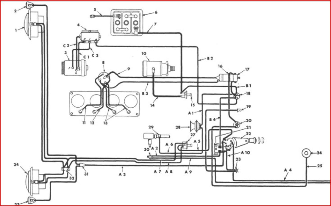 [TW_2141] Willys Jeep M38 Wiring Diagram Get Free Image