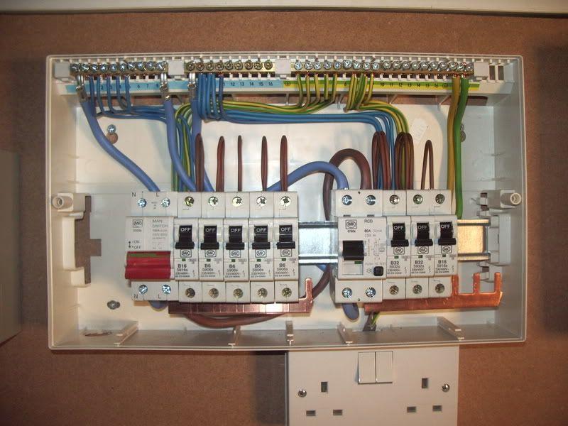 Domestic Switchboard Wiring Diagram Australia