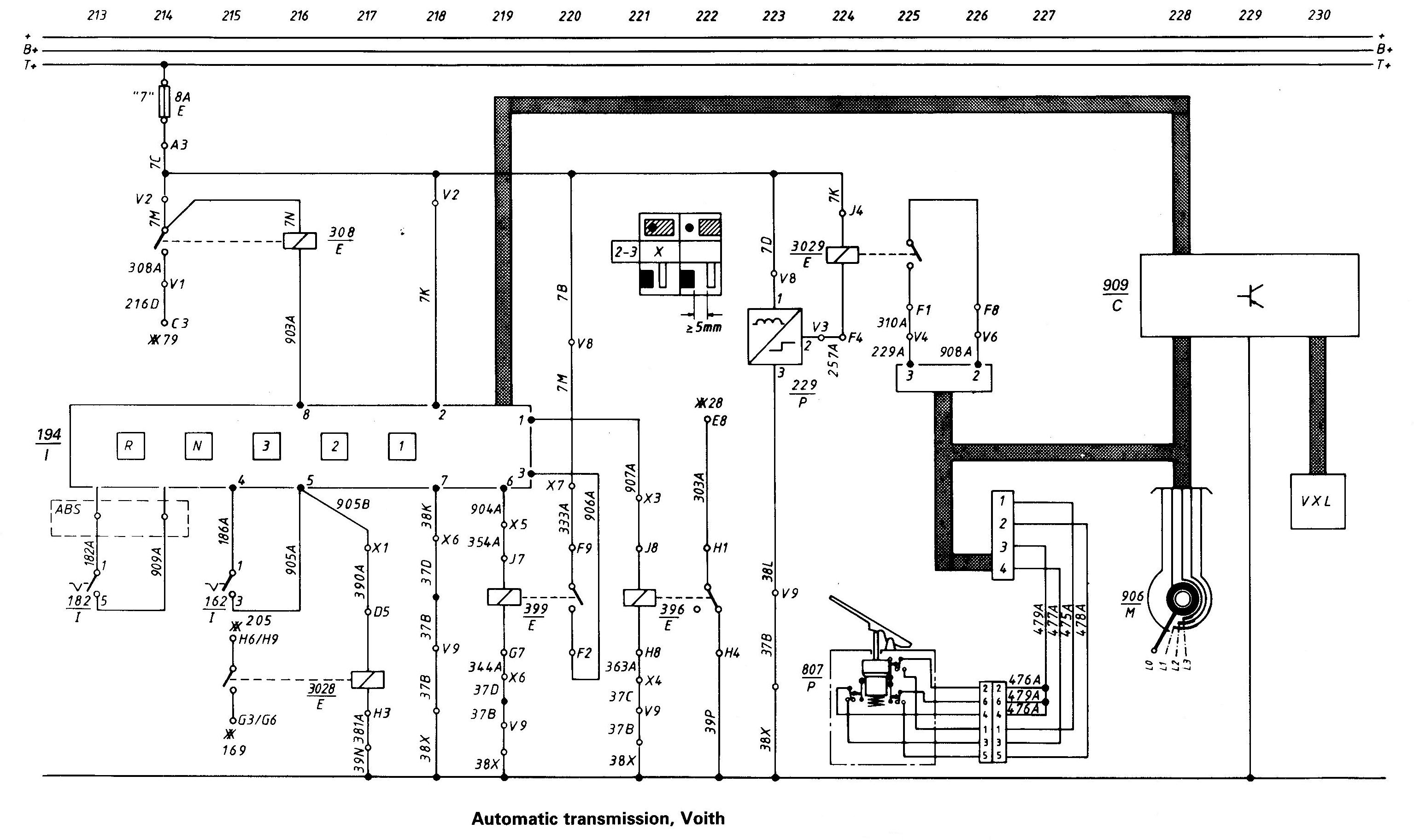 Voith Gearbox Wiring Diagram