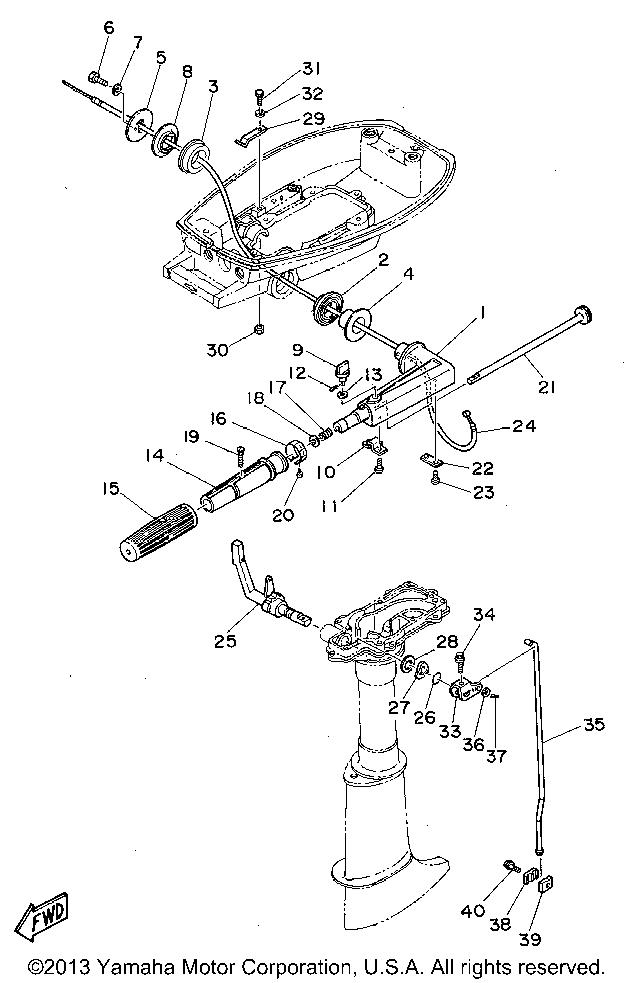 [DB_6356] Yamaha Outboard Engine Diagram Schematic Wiring