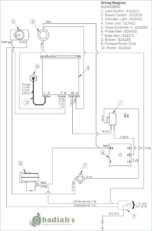 [OW_4111] Blower On Wood Stove Blower Motor Wiring Diagram