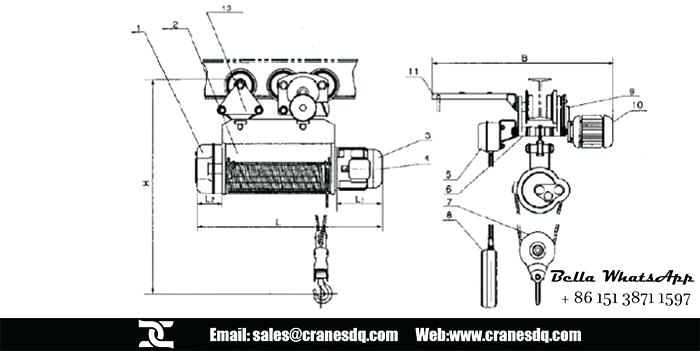[ZD_3738] Strong Way Electric Hoist Wiring Diagram
