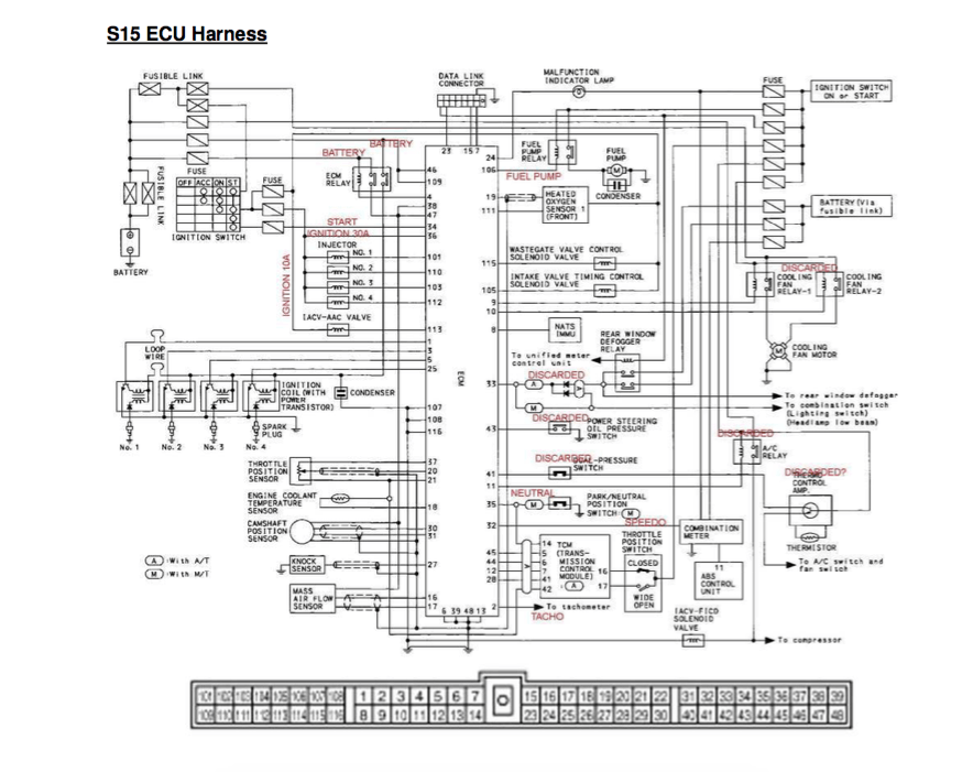 [NL_6873] Nissan 240Sx Ecu Wiring Diagram Further S14