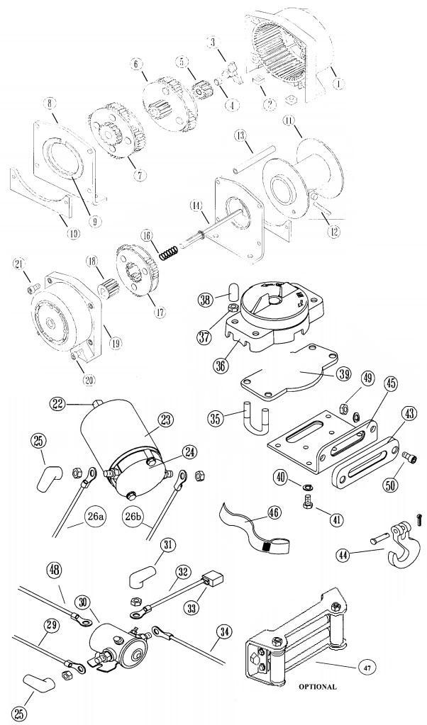 [DB_4630] Warn Winch Wiring Diagram System Wiring Diagram