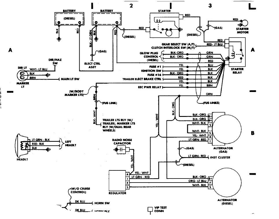 [DIAGRAM] Ford F150 1989 Wont Start Crank Ok Wiring
