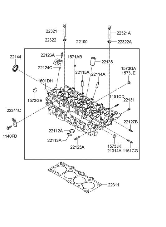 [GR_3350] 2007 Hyundai Tucson Engine Diagram Wiring Diagram