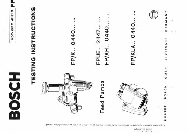 [ZE_6904] Pump Diagram Further Bosch Ve Injection Pump