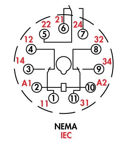 [FT_0758] Octal Relay Wiring Diagram Schematic Wiring