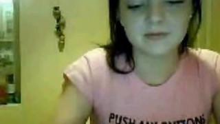 21 yo irish girl strip on webcam