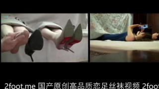 【恋足】国产原创 丝袜高跟鞋