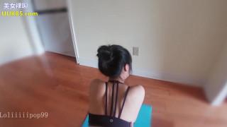 双镜拍摄爆操瑜伽学员 大屁屁 大奶子 娃娃音听声音就想射 对话清晰刺激