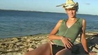 Nude Beach - Aussie Blond