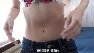[中文字幕] HND-997 幸薄地味だけど実は性欲強いAV撮影を唯一の楽しみにしてきた月収17万円の派遣社員が赤面初めてのナマ中出しデビュー 渚澤のあ