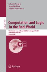 Computation and Logic in the Real World