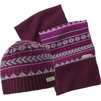 Columbia Winter Worn Hat and Scarf Set Purple | Bear ...