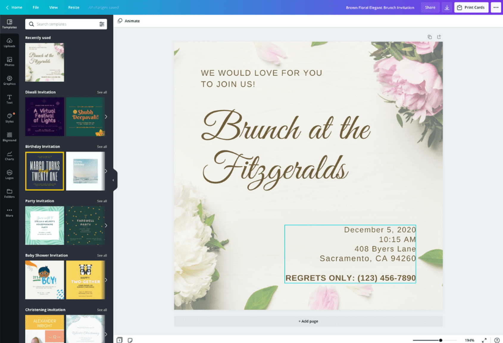 free email invitations for any