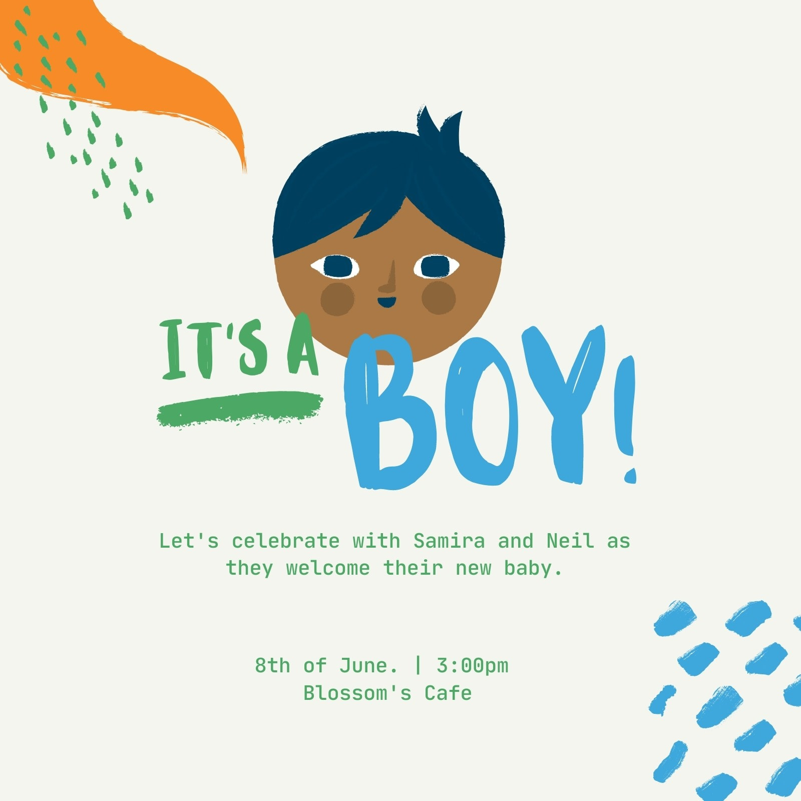 Baby shower decorating ideas don't have to be complicated. Make Your Own Baby Shower Invitation Canva