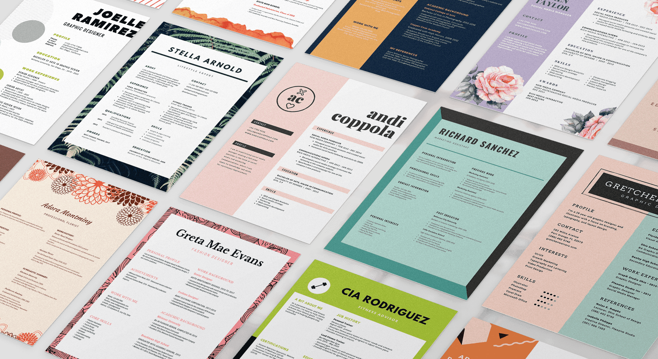 Simply answer a few intuitive questions and we'll ensure your experiences, skills, and attributes stand out from the crowd. Free Online Resume Builder Design A Custom Resume In Canva