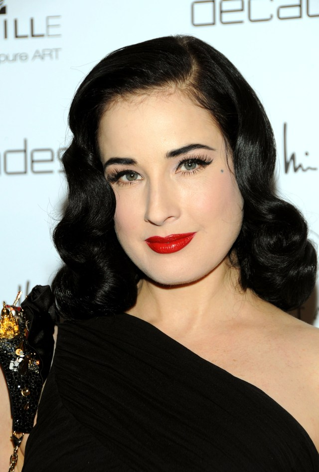 one thing dita von teese would love to change about herself
