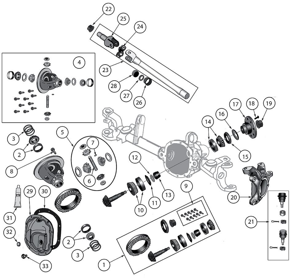 [DOWNLOAD] Jeep Wrangler Jk Front Axle Diagram Full