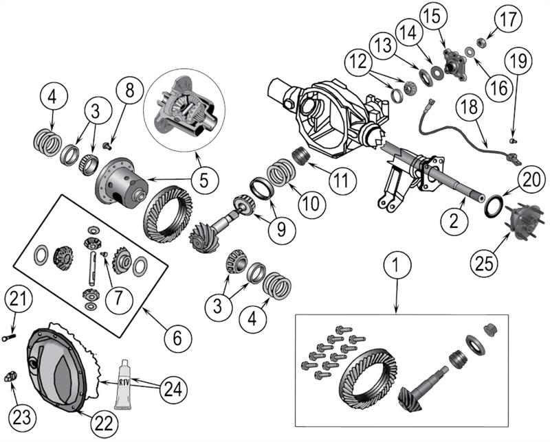 RAM Schema moteur