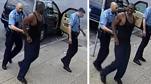 New Video Doesn't Appear To Show George Floyd Resisting Arrest As ...