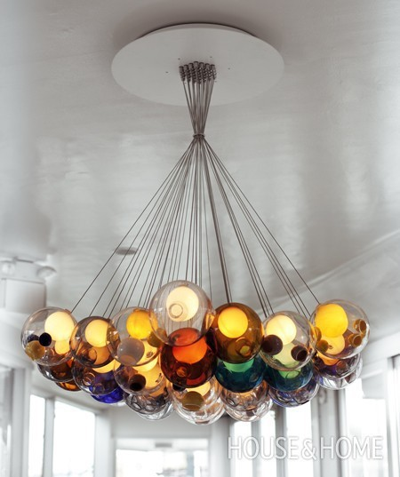 replica BOCCI 2836 chandelier colored buy in online shop price order online