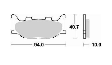 Колодки тормозные LB 777CM55 YAMAHA