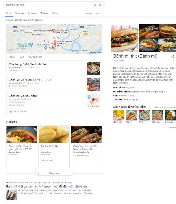 Search Intent Dạng Split Intent
