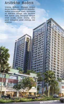 Dijual Apartemen Mid Town Signature 1 Bedroom Tower Galaxy