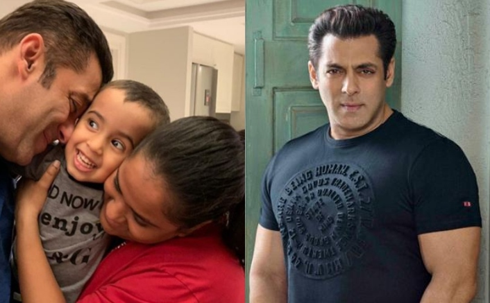 Salman Khan Makes The Best Uncle & We Couldn't Envy Arpita Khan Sharma's Son Anymore Than This!