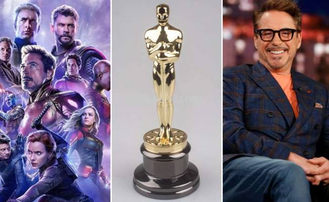 Breaking Avengers Endgame For Best Picture Robert