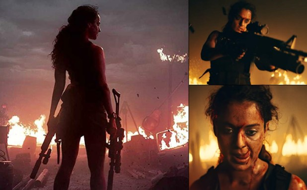Fierce, daring and all guns blazing, first look teaser of Kangana Ranaut's Dhaakad promises a mega action Diwali Bonanza