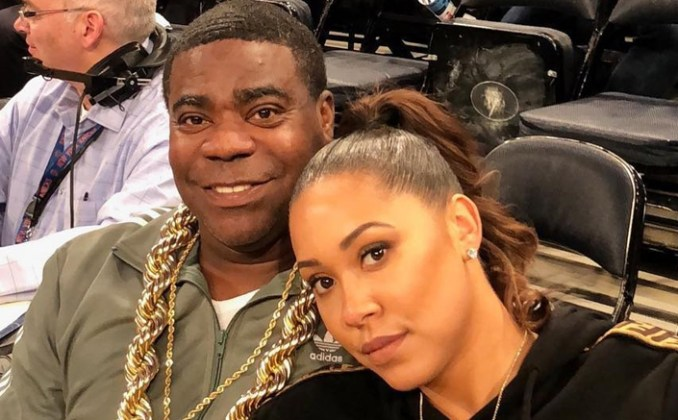 Actor Tracy Morgan & Megan Wollover Announce Their Split After 5 Years Of Marriage