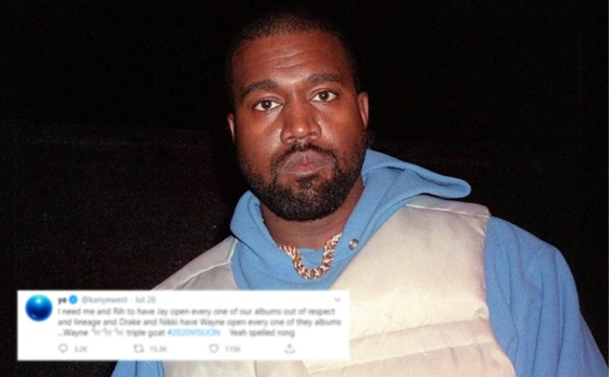 "Kanye West Tweets About Aborting Daughter North AGAIN, Says ""I Am Quite Alright"""